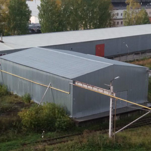 Холодный склад Строение №12 литер F (СДАН)