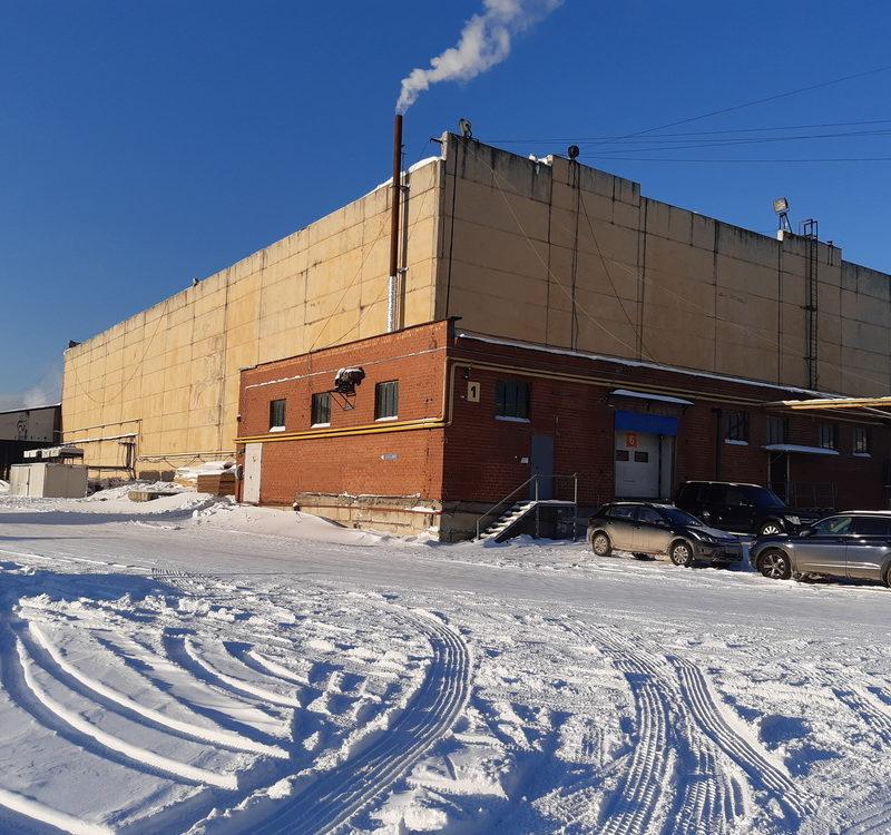 Теплый склад со встроенными среднетемпературными камерами Строение №1 литер Р