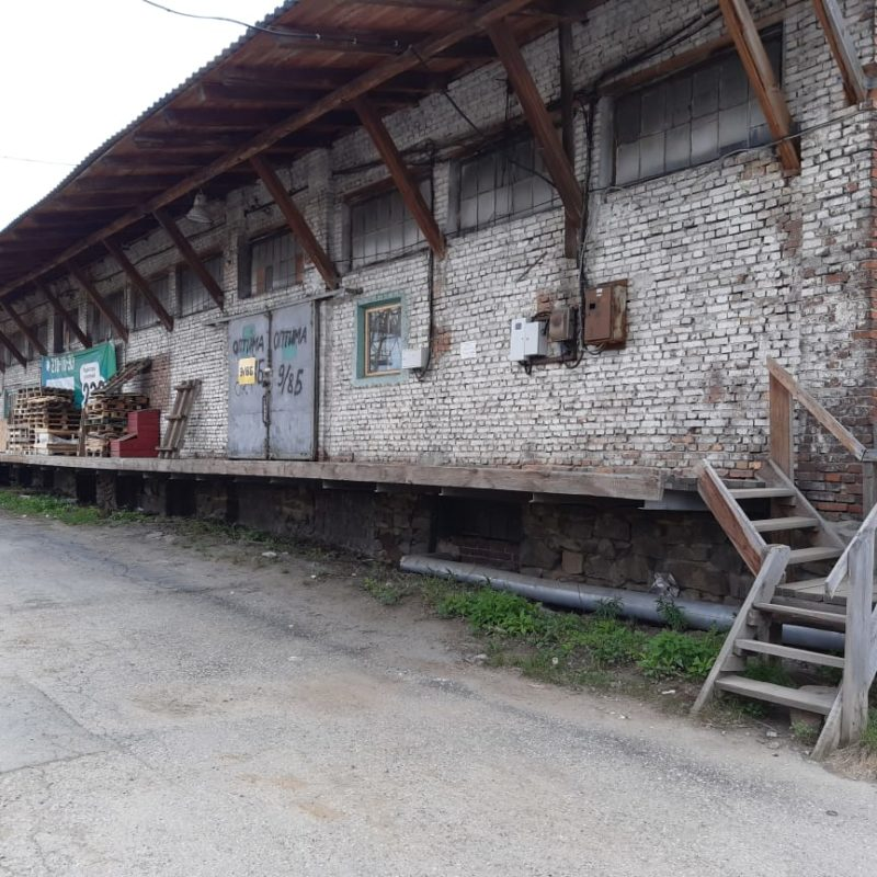 Теплый склад № 9 Литер В
